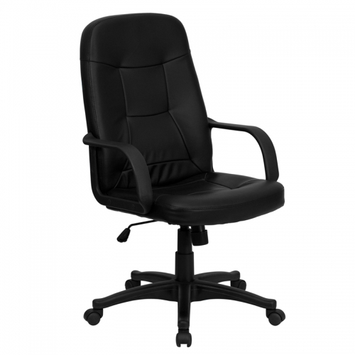 Flash Furniture High Back Black Glove Vinyl Executive Office Chair [H8021-GG]