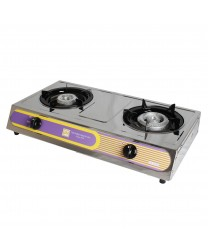 Thunder Group SLST002 Double Burner Countertop Gas Hot Plate