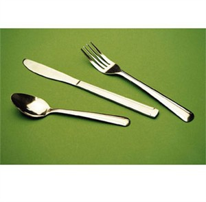 Winco 0081-02 Dominion Iced Tea Spoon, Medium Weight, 18/0 Stainless Steel, Clear Pack (2 Dozen)