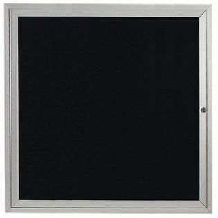 Aarco ADC3636 Indoor Enclosed Directory Board with Aluminum Frame  36
