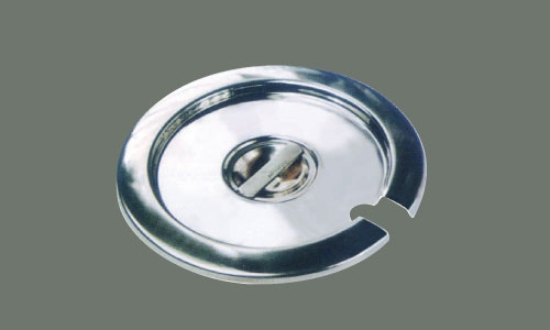 Winco INSC-11M Stainless Steel Inset Cover, 11 Qt.