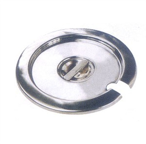 Winco INSC-4 Stainless Steel Inset Cover, 4 Qt.
