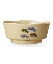 GET Enterprises 0163-TK Tokyo Japanese Scallop Edged Bowl, 16 oz. (1 Dozen)