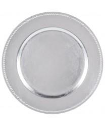 Jay Imports TRS-6629 Silver Beaded 13