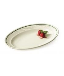 """GET Enterprises EP-10-K Kingston Oval Platter, 9-1/4""""(2 Dozen)"""