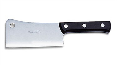 "FDick 9109915 Kitchen Cleaver with Plastic Handle,  6"" Blade"