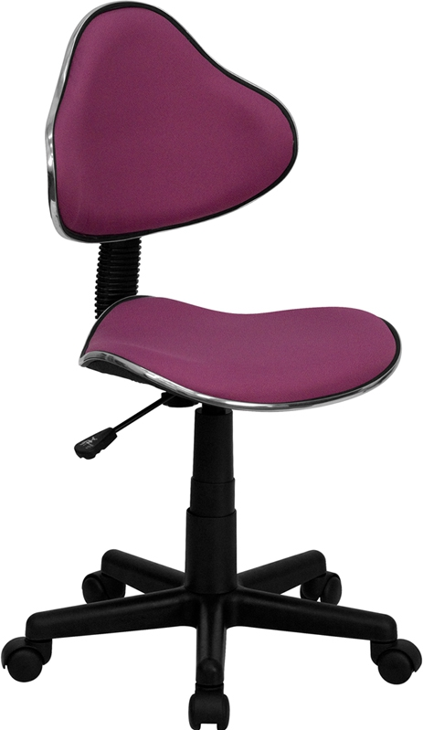 Flash Furniture Lavender Fabric Ergonomic Task Chair [BT-699-LAVENDER-GG]