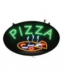 Winco LED-11 LED PIZZA Sign with Dust-Proof Cover