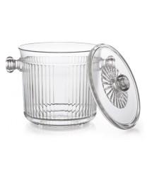 GET Enterprises HI-2020-CL Clear Lid, For Ice Bucket HI-2015 (1 Dozen)
