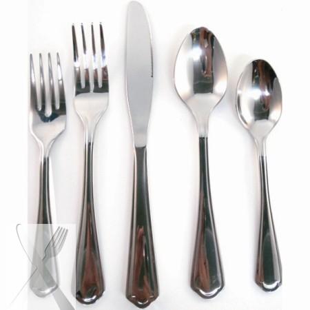 10 Strawberry Street LNCLN-DK Lincoln Dinner Knife 18/0 - Case of 12