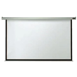 "Aarco APS-84 Manual Wall Mounted Projection Screen 84"" x 84"""