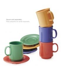 GET Enterprises TM-1308-MIX Mardi Gras Plastic Mug, 8 oz. (2 Dozen)
