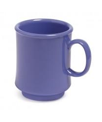 GET Enterprises TM-1308-PB Mardi Gras Peacock Blue Plastic Mug, 8 oz. (2 Dozen)