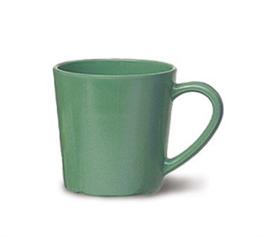 GET Enterprises C-107-FG Diamond Mardi Gras Rainforest Green Mug 7 oz. (2 Dozen)