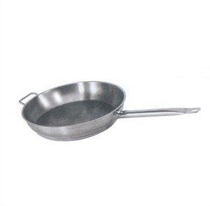 Winco SSFP-9 Master Cook Stainless Steel Fry Pan 9-1/2""