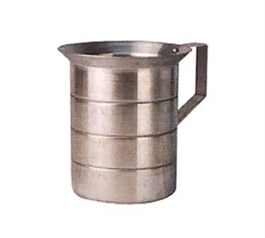 Winco AM-4 Aluminum Measuring Cup 4 Qt.