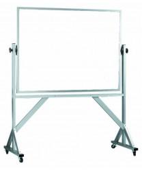 "Aarco WARC3648 Reversible Free Standing Melamine White Markerboard 36"" x 48"""
