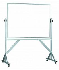 "Aarco WARC4872 Reversible Free Standing Melamine White Markerboard 48"" x 72"""