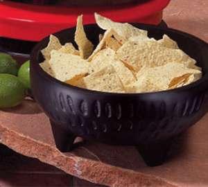 GET Enterprises MOJ-801-BK Viva Mexico Molcajete Bowl, 4 oz. (1 Dozen)