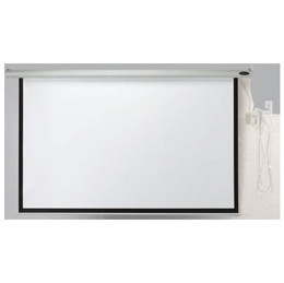 "Aarco MPS-70 Motorized Electronically Operated Projection Screen 70"" x 70"""
