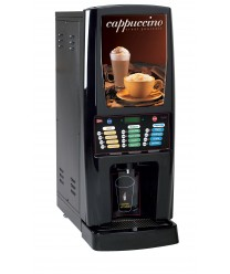 Grindmaster-Cecilware GB5MF-IT-LD Multi-Flavor Five Hopper Powdered Cappuccino Dispenser with Illuminated Front