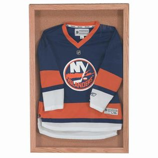 """Aarco OBC3648S Souvenir and Memorabilia Display Case with Natural Oak Stain Finish  36"""" x 48"""""""