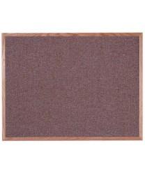 "Aarco OF3648003 Designer Fabric Rose Quartz Bulletin Board with Oak Frame 36"" x 48"""