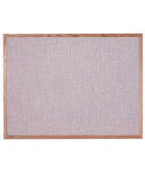 "Aarco OF3648005 Designer Fabric Quartz Bulletin Board with Oak Frame 36"" x 48"""