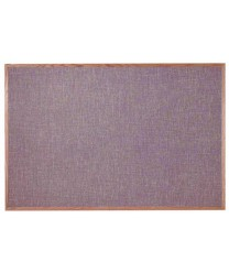 "Aarco OF4872022 Designer Fabric Pumice Bulletin Board with Oak Frame 48"" x 72"""