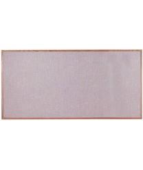"Aarco OF4896005 Designer Fabric Quartz Bulletin Board with Oak Frame 48"" x 96"""