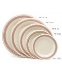 "GET Enterprises WP-10-OX Diamond Oxford Wide Rim Plate, 10-1/2""(1 Dozen)"