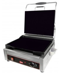 Grindmaster-Cecilware  SG1LF Single Plus Panini Sandwich Grill, Flat Surface -120V