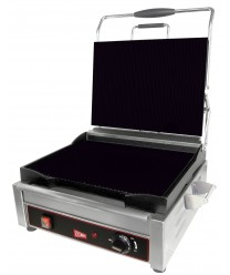Grindmaster-Cecilware SG1SF Single Panini Sandwich Grill, Flat Surface - 120V