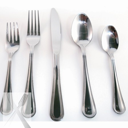 10 Strawberry Street PRL-DK Pearl Dinner Knife 18/0 - Case of 12