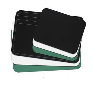 "Aarco LBL1218B Personal Size Writing Board- Black  12"" x 18"""