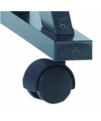Aarco C-44A Plastic Swivel Casters for Free Standing Reversible Board