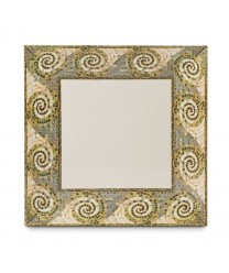 "GET Enterprises ML-90-MO Mosaic Square Plate, 12""(6 Pieces)"