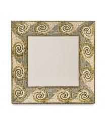 """GET Enterprises ML-92-MO Mosaic Square Plate, 16""""(6 Pieces)"""