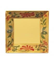 """GET Enterprises ML-92-VN Venetian Square Plate, 16"""" (6 Pieces)"""