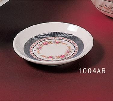 "Thunder Group 1004AR Rose Round Plate 4-1/2"" (1 Dozen)"