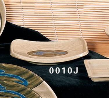 """Thunder Group 0010J Wei Plate 6-1/2"""" x 5-1/2"""" (1 Dozen)"""