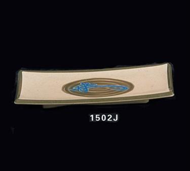 """Thunder Group 1502J Wei Rectangular BBQ Platter 9-3/8""""  x  4-1/4"""