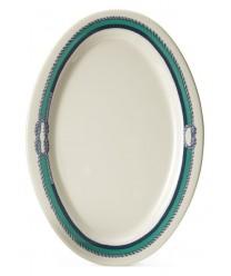 "GET Enterprises OP-115-FP Freeport Oval Platter, 11-1/2""x 8""(2 Dozen)"