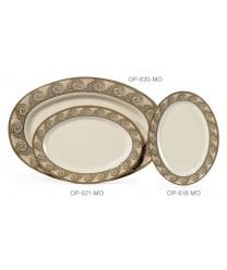 """GET Enterprises OP-618-MO Mosaic Oval Platter, 18""""x 13-1/2""""(1 Dozen)"""