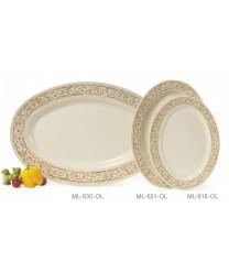 "GET Enterprises OP-630-OL Olympia Oval Platter, 30""x 20-1/4""(6 Pieces)"