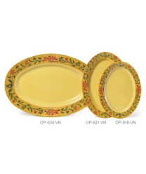 "GET Enterprises OP-630-VN Venetian Oval Platter, 30""x 20-1/4"" (6 Pieces)"