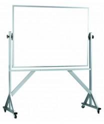 "Aarco WARS4260 Reversible Free Standing White Porcelain Markerboard 42"" x 60"""