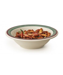 GET Enterprises B-127-PO Diamond Portofino Soup Round Melamine Bowl, 12 oz. (2 Dozen)