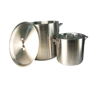 Winco AXHH-16 Super Aluminum Stock Pot without Cover 16 Qt.