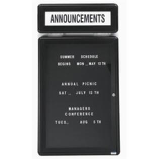 "Aarco RHD60G Radius Design Header with Graphite Frame 7.5"" x 60"""